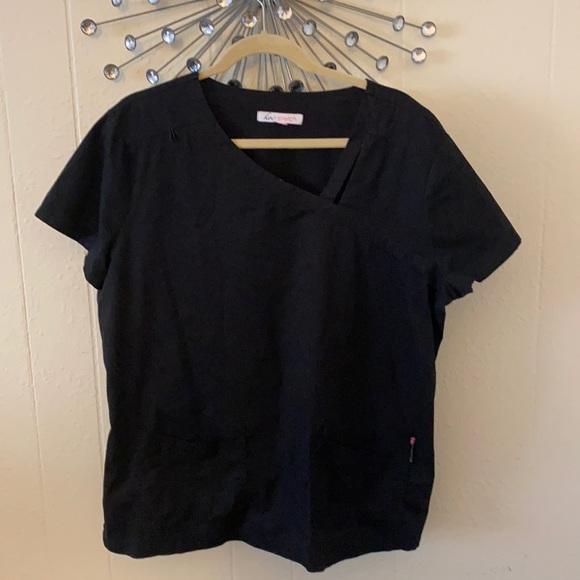 Koi scrub top previously worn